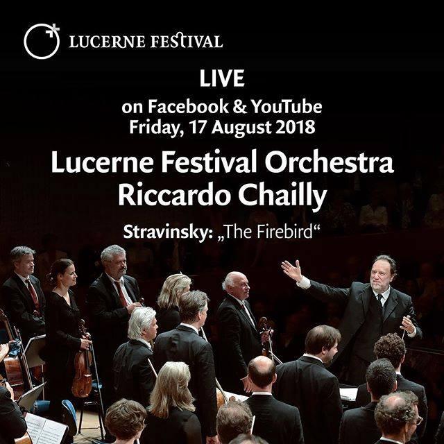 Inauguración Del Festival De Lucerne Online