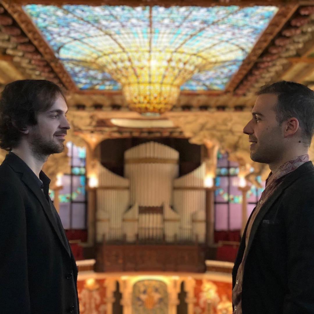 Primer Palau: Roger Morelló Y MazikDuo