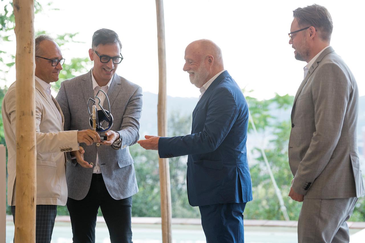 Montblanc Arts Award Premia A Han Nefkens