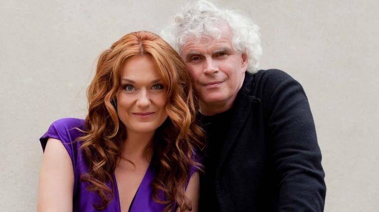 La Canción Con Simon Rattle Y Magdalena Kožená