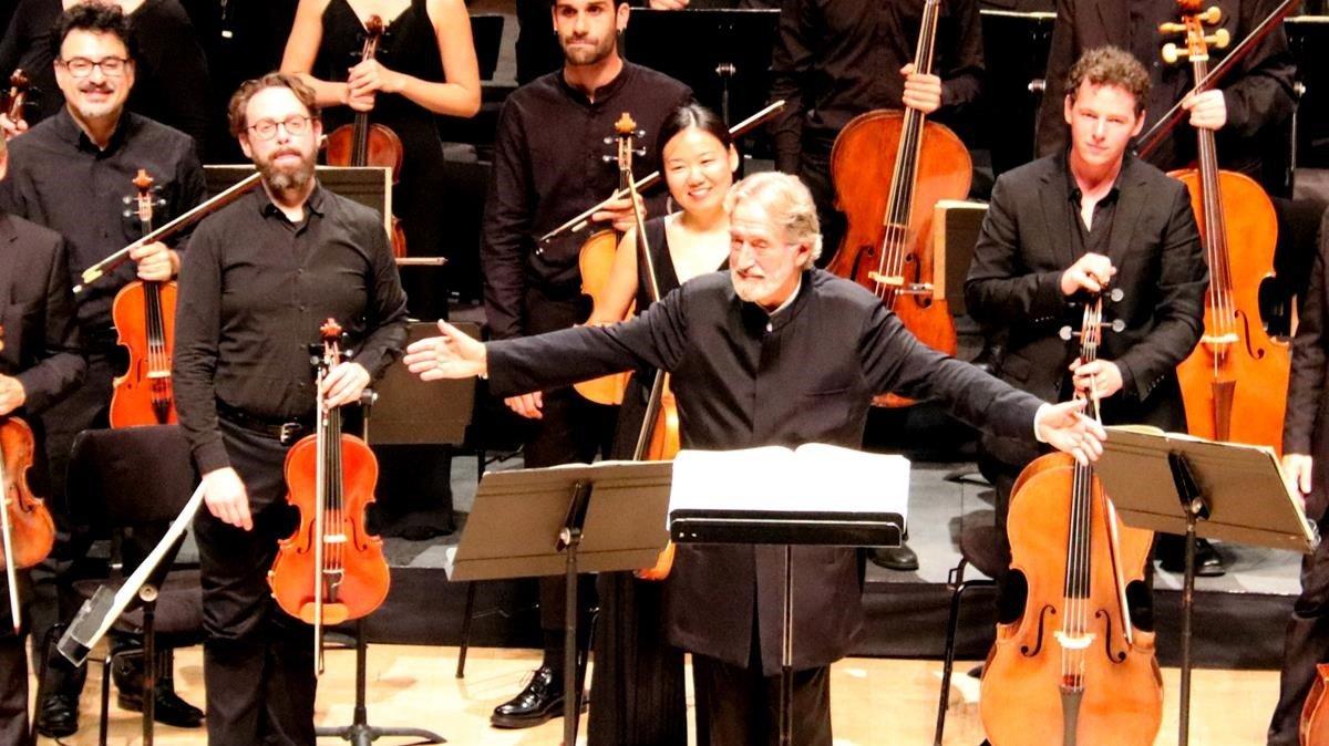 El Beethoven De Savall Magnetiza Al Auditori